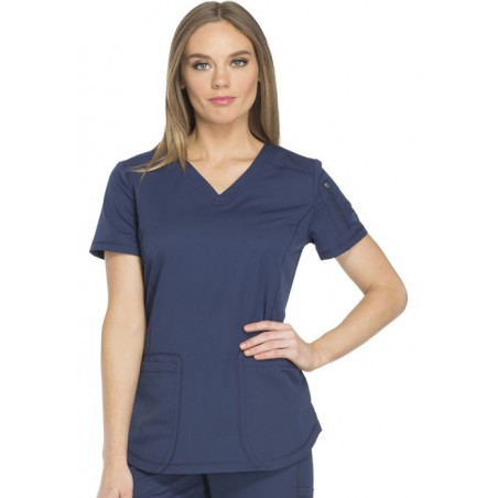 Tunique médicale femme moderne marine Dickies