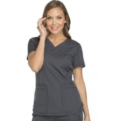 Tunique médicale femme moderne grise Dickies