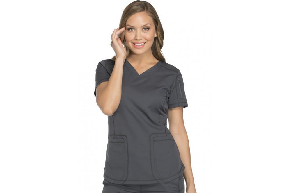a12a527190 Tunique médicale femme moderne grise Dickies. Dickies médical