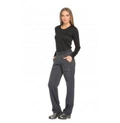 Pantalon médical élastique femme gris Dickies