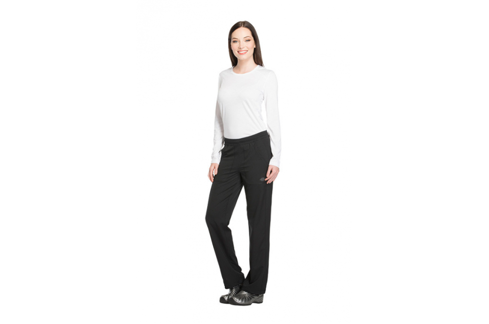 d9d01bb29e9fc Pantalon médical élastique femme noir Dickies - Cotepro