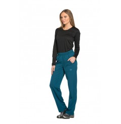 Pantalon médical élastique femme caribbean blue Dickies