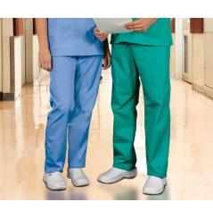 3697c365a6d5e Pantalon médical élastique homme blanc Dickies - Cotepro