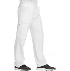 Pantalon médical élastique homme blanc Dickies