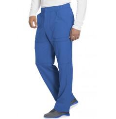 Pantalon médical élastique homme bleu Dickies