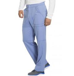 Pantalon médical élastique homme bleu ciel Dickies