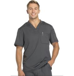 Tunique médicale homme moderne gris Dickies