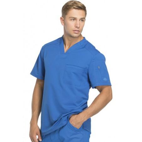 Tunique médicale homme moderne bleu roi Dickies