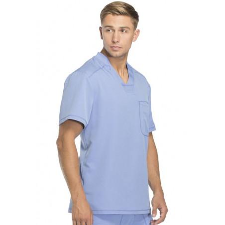 Tunique médicale homme moderne bleu ciel Dickies