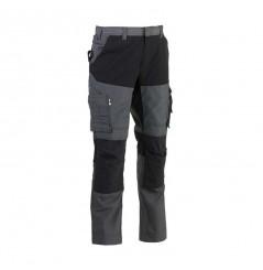 Pantalon de travail confortable Hector gris Herock