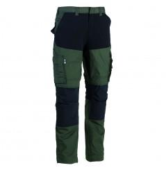 Pantalon de travail extensible Hector kaki Herock