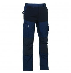 Pantalon de travail extensible Hector navy Herock