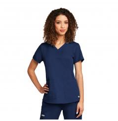Tunique médicale femme moderne marine Grey's Anatomy