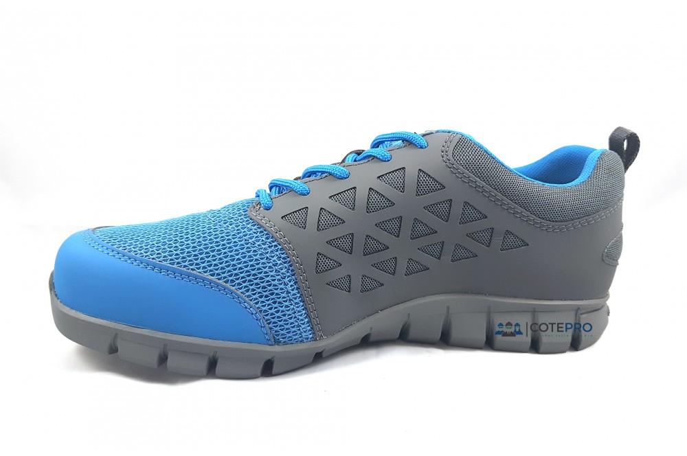basket de sécurité S1P excel light grey blue Reebok Cotepro