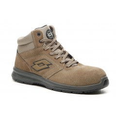 Chaussure sécurité montante race mid 400 brown Lotto Works