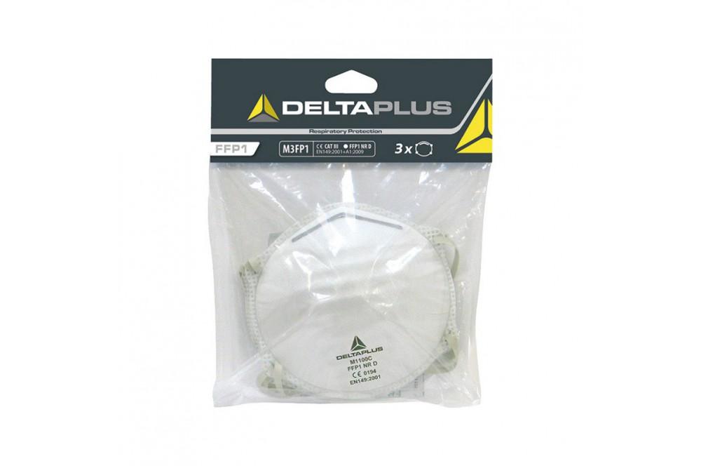 Lot de 3 kit de 3 masques jetables FFP1 Delta plus