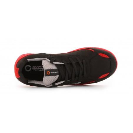 Basket de sécurité légère nitro S3 rouge noir Sparco