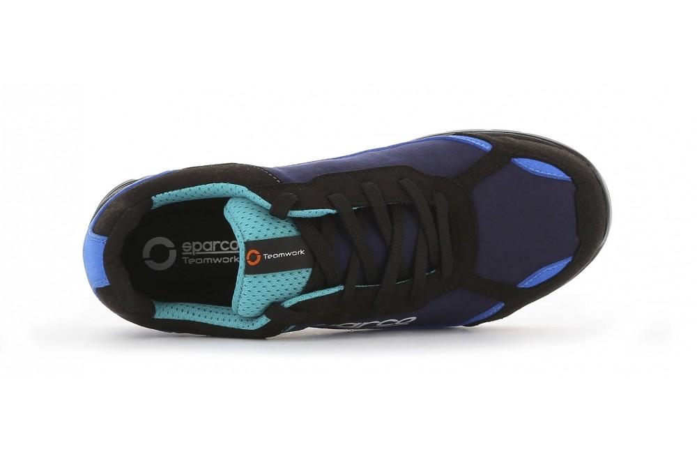Basket de sécurité légère nitro S3 noir bleu Sparco