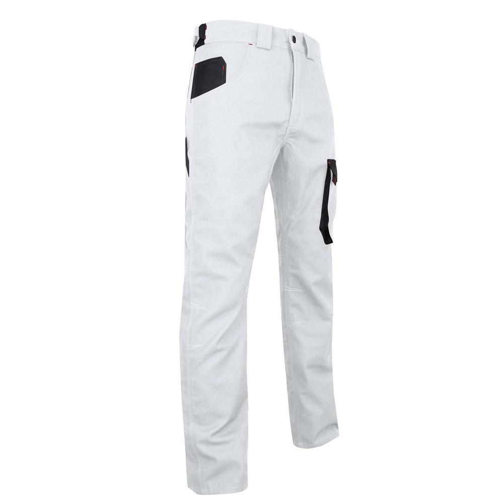 pantalon blanc de travail lma