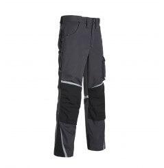 Pantalon de travail multipoches Nieuport gris ou noir North Ways