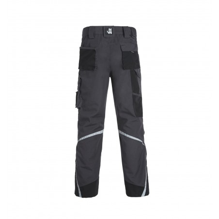 Pantalon de travail multipoches Nieuport gris North Ways