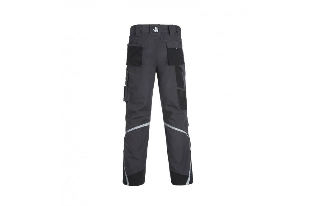 Pantalon de travail multipoches Nieuport gris North Ways