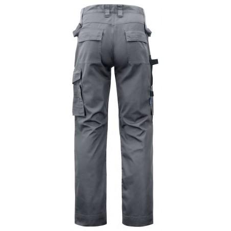 Pantalon de travail poches genouillères 5532 Projob gris ou marine