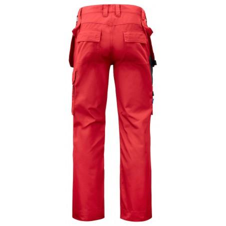 Pantalon de travail poches flottantes 5531 Projob rouge ou beige