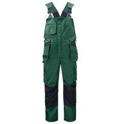 Salopette de travail avec poches genouillères 5630 Projob noir ou vert