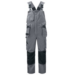 Salopette de travail avec poches genouillères 5630 Projob gris ou marine