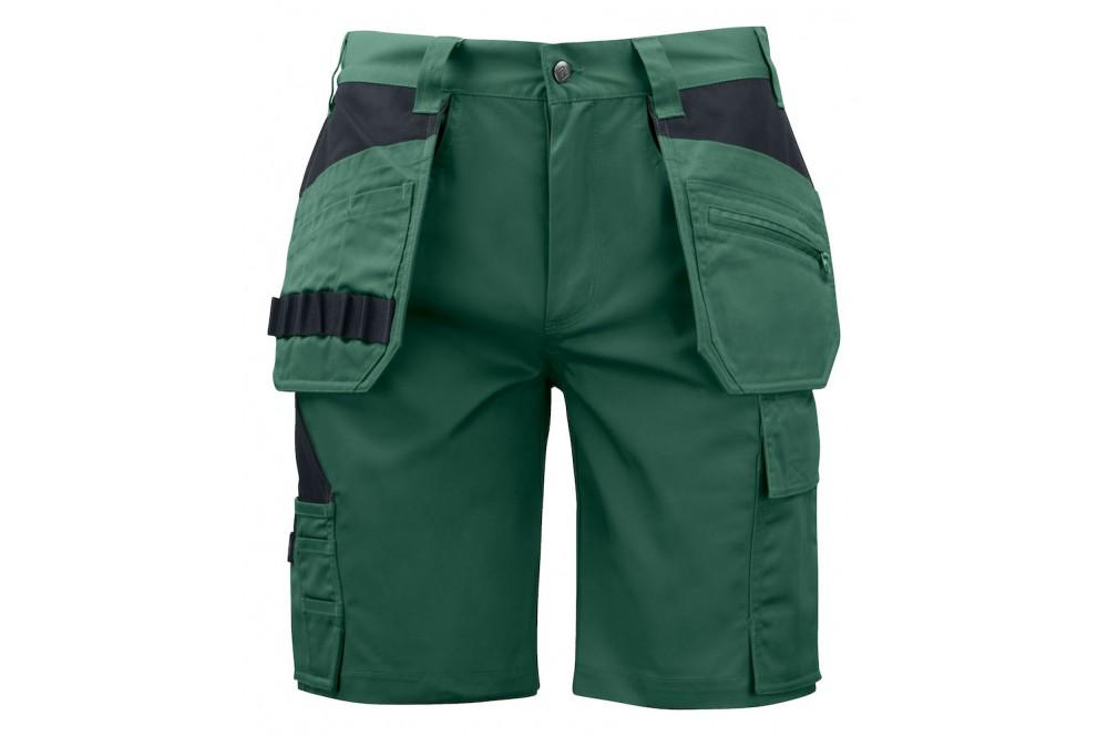 Bermuda de travail poches flottantes 5535 Projob noir ou vert