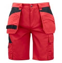 Bermuda de travail poches flottantes 5535 Projob rouge beige