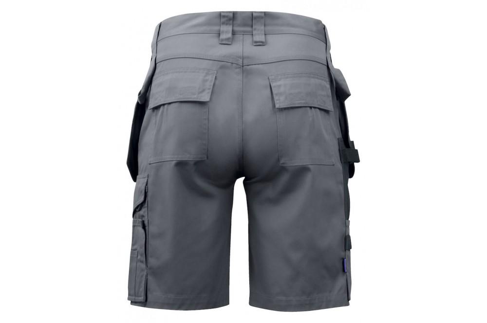 Bermuda de travail poches flottantes 5535 Projob gris ou marine
