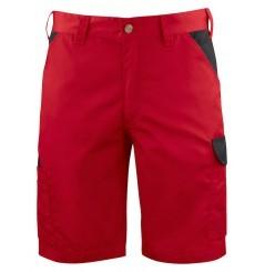 Bermuda de travail léger ajusté 2528 Projob rouge ou blanc