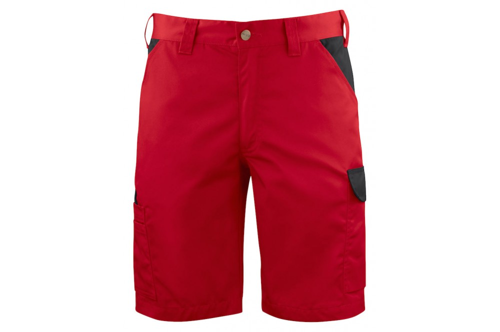 1f3e4510f Bermuda de travail léger ajusté 2528 Projob rouge ou blanc - Cotepro
