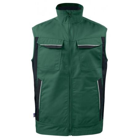 Gilet de travail bodywarmer ete 5706 Projob noir ou vert