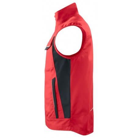Gilet de travail bodywarmer ete 5706 Projob rouge ou beige