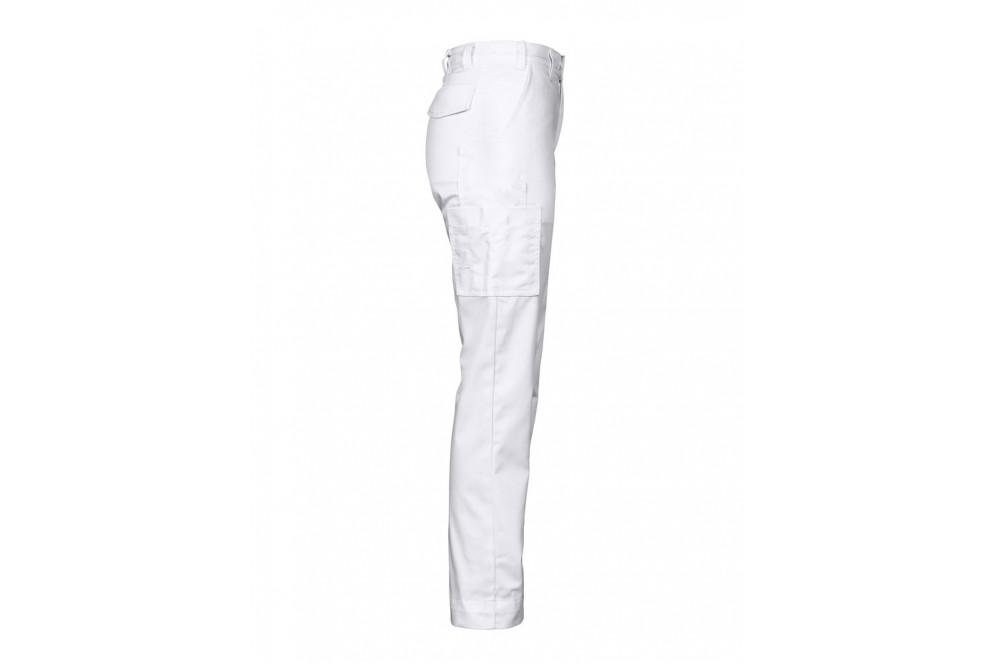 364695ccb Pantalon de travail leger femme 2519 Projob rouge ou blanc - Cotepro