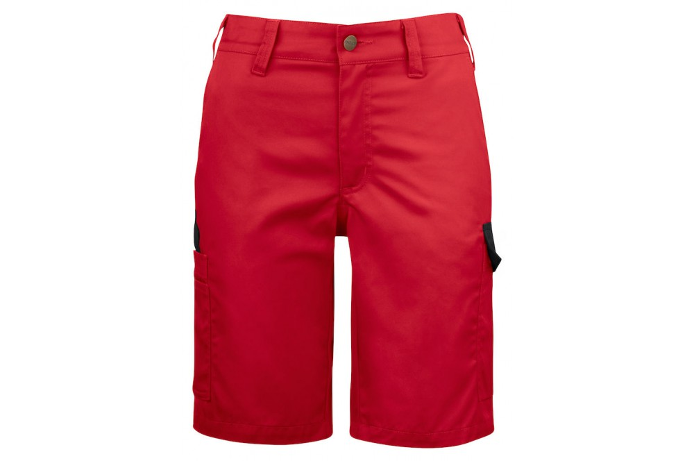 62a8a3202b2de5 Bermuda de travail leger femme 2529 Projob rouge ou blanc - Cotepro