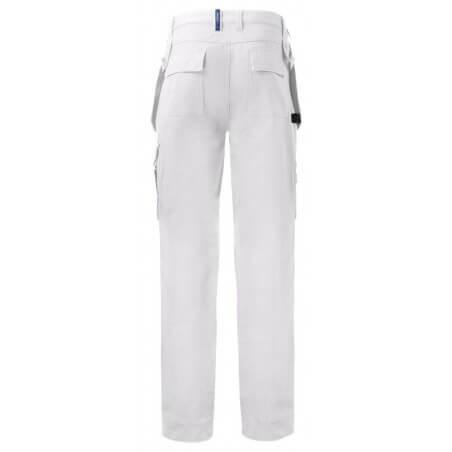 Pantalon de travail poches flottantes coton 5530 Projob noir ou blanc