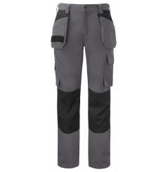 Pantalon de travail poches flottantes coton 5530 Projob gris ou marine