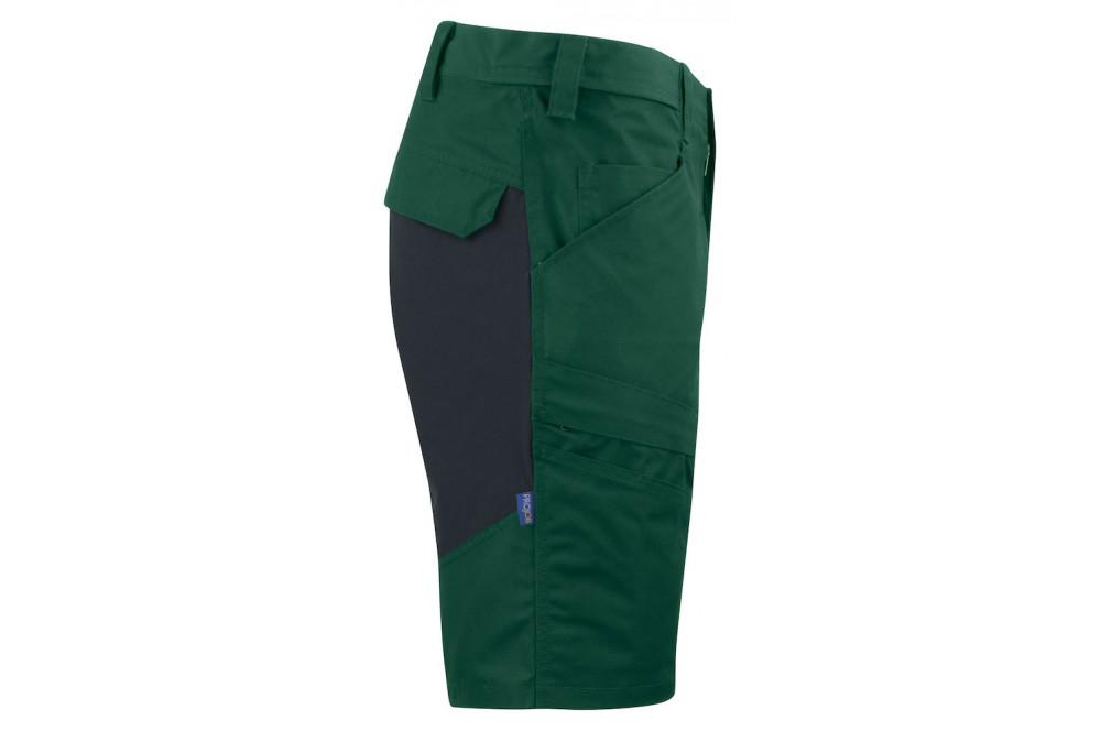 Bermuda de travail en stretch flexible 2522 Projob noir ou vert