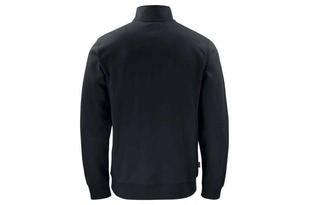 Sweat de travail résistant col zippé 2128 Projob noir ou vert