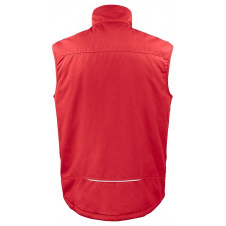 Gilet de travail bodywarmer matelassé 5704 Projob rouge ou beige