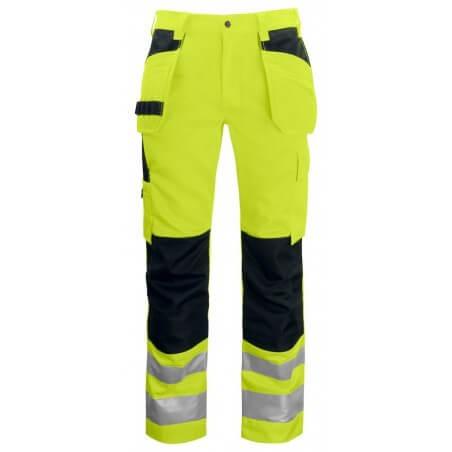 Pantalon haute visibilité poches flottantes 6531 Projob jaune