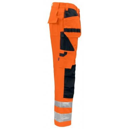 Pantalon haute visibilité poches flottantes 6531 Projob orange