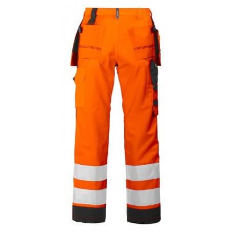 Pantalon haute visibilité classe 2 résistant 6506 Projob orange