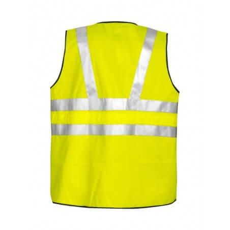 Gilet haute visibilité zippé classe 3 Projob 6702 jaune