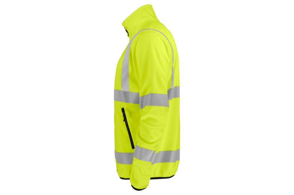 Veste softshell haute visibilité légère 6105 Projob jaune fluo