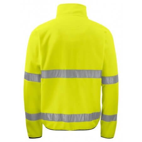 Gilet polaire haute visibilité 6327 Projob jaune fluo
